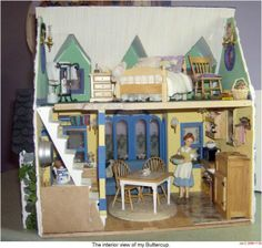 BUTTERCUP011.JPG - Buttercup Cottage - Gallery - The Greenleaf Miniature Community