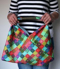 Bag Making, Shopper, Bento, Origami, Fashion, Medium Sized Bags, Quilt Bag, Sewing For Kids, Moda
