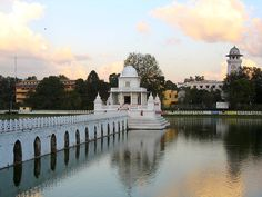Rani Pokhari , also known as Lani Pukhu or Queen's Pond is located in Kathmandu, Nephal.