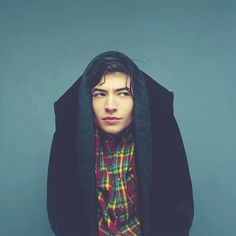 Ezra Miller - the one and only. He's beautiful.