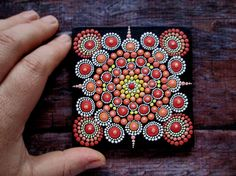 You need this mandala if you want to protect yourself, your children and loved ones from bad energy, evil eye and bad thoughts, envious. This is the best and unique offer.  Protective mandala I use acrylic paint and brush painting is painted on a wooden canvas. Size 90*90 mm (3.54 * 3.54 inches) 8 mm deep. Wooden Stand. Delivery in a beautiful gift box. It will bring you joy and comfort vvash house or house of your loved ones. Great as a gift for yourself or someone special to you…