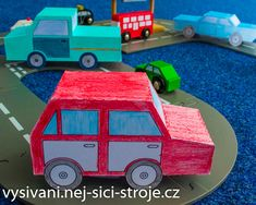Máte doma šikulu, který má rád kreslení a autíčka? Tak to pro vás bude tento projekt jako dělaný! Vytvořte si s námi modely autíček, kterými děti zabavíte na celé odpoledne! / Návody na vyřezávání Cutting Plotter, Wooden Toys, Car, Model, Wooden Toy Plans, Wood Toys, Automobile, Woodworking Toys
