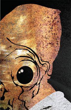 Star Wars Inspired Admiral Ackbar Character Portrait
