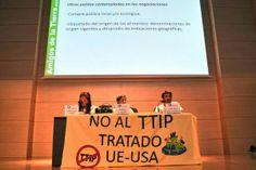 """Constituida en #Madrid la plataforma""""No al Tratado #Transatlántico de #Comercio e #Inversiones"""" (#TTIP)"""