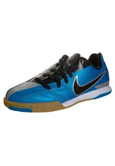 Nike Performance - T90 SHOOT IV - Botas de fútbol sin tacos - azul Futbol 60d97a39ea1f0