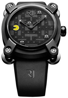Romain Jerome who recently brought us the Space Invaders inspired timepieces has just unveiled 4 new limited edition Pac Man inspired watches. A must have for fans of the popular arcade game, this one is our personal favourite Men's Watches, Luxury Watches, Cool Watches, Watches For Men, Unique Watches, Amazing Watches, Elegant Watches, Stylish Watches, Inspektor Gadget