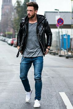 how+to+wear+a+leather+jacket+for+men