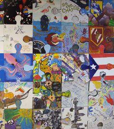 art gallery puzzle artist - Buscar con Google