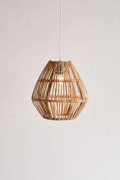 Urban Outfitters Bamboo Woven Pendant Light - All For Decoration Pendant Lighting Bedroom, Rustic Pendant Lighting, Boho Lighting, Rattan Pendant Light, Club Lighting, Plug In Pendant Light, Lighting Ideas, Bedside Pendant Lights, Plug In Chandelier