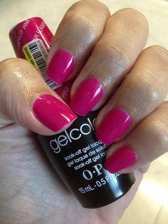 OPI gelcolor - Pink Flamenco