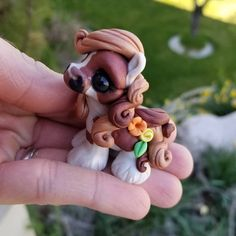 This chubby little dude is extremely proud of his flowers and does NOT think flowers are just for girls. He's spunky, fo sho! Will be available Friday at 4 PM MST on Etsy! Polymer Clay Sculptures, Sculpture Clay, Polymer Clay Crafts, Gypsy Horse, Pony Horse, Miniature Crafts, India, Horse Art, Clay Projects