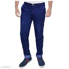 Jeans Trendy Cotton Jeans Fabric: Cotton Pattern: Solid Multipack: 1 Sizes:  34 (Waist Size: 34 in Length Size: 42 in)  36 (Waist Size: 36 in Length Size: 42 in)  28 (Waist Size: 28 in Length Size: 42 in)  30 (Waist Size: 30 in Length Size: 42 in)  32 (Waist Size: 32 in Length Size: 42 in) Country of Origin: India Sizes Available: 28, 30, 32, 34, 36   Catalog Rating: ★3.9 (429)  Catalog Name: Casual Trendy Men Jeans CatalogID_1245875 C69-SC1211 Code: 855-7669717-