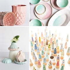 NICA´S WEEKLY INSPIRATION | ceramics Beautiful home decor and tableware