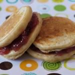 Peanut Butter & Jelly Pancake Sandwiches
