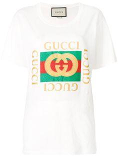 211e075f997 GUCCI logo printed T-shirt.  gucci  cloth