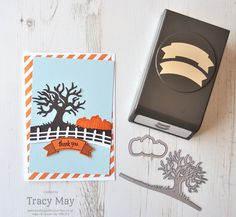 Halloween Scenes Edgelits by Stampin' Up! Tracy May #SS004