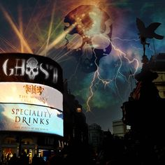 #GhostVodka has landed with @speciality_drinks and @whiskyexchange #London #drinks #picadillycircus #picadilly #drinkstagram #cocktails #mixology #londonlife #londontown #londoncity #whiskyexchange #billboard #lights #specialitydrinks #ghost #vodka #skull #bottle #bottleservice #vip #bottlesondeck #travel #explore