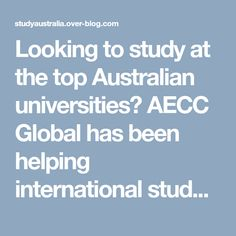 Looking to study at the top Australian universities? AECC Global has been helping international students to realize their dream careers in Australia. Our experts offer guidance on visa, courses and PR pathways to aspirants. Talk to our experts for help today.
