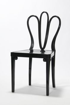 Josef Hoffmann, chair, 1910. Vienna. Made by J. et J. Kohn, Vienna. Via Europeana