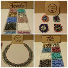 Colores muy especiales en Tila y Superduo!!!! Os van a encantar!!!! Y ademas no os perdáis nuestros próximos cursos... www.lakuweb.com