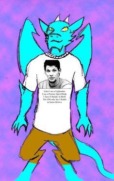 Qujin T shirt Spirit Blade by Qujin.deviantart.com on @DeviantArt