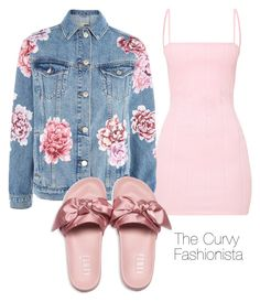 """Untitled #1041"" by thecurvyfashionistaa ❤ liked on Polyvore featuring Topshop and Puma"
