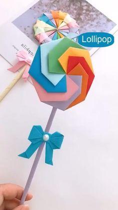 Diy Crafts Hacks, Diy Crafts For Gifts, Diy Arts And Crafts, Diy Crafts Videos, Cool Paper Crafts, Paper Crafts Origami, Fun Crafts, Crafts For Kids, Diy Paper