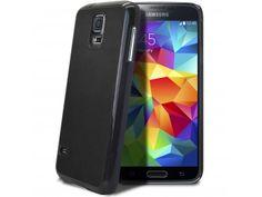 Coque Samsung Galaxy S5 Retro Leather Back Noire