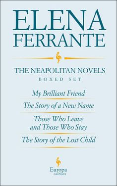 """""""Nothing quite like this has ever been published before,"""" proclaimed The Guardian about the Neapolitan novels in 2014. Against the backdrop of a Naples that is as seductive as it is perilous and a world undergoing epochal change, Elena Ferrante tells the story of a sixty-year friendship between the brilliant and bookish Elena and the fiery, rebellious Lila with unmatched honesty and brilliance.The four books in this novel cycle constitute a long, remarkable story, one that Vogue described…"""