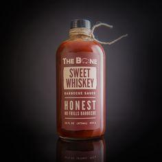 The Bone BBQ Sauce Packaging on Behance