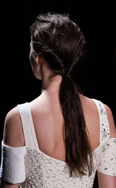 Prabal Gurung's Twisted Ponytail Is Every Lazy Girl's Dream Hairstyle | E! Online
