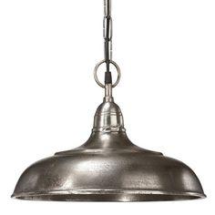 Pr Home Philadelphia Råsølv 35 cm Taklampe