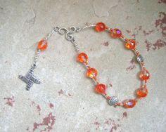 Brigid (Brighid, Brigit) Pocket Prayer Beads: Irish Celtic Goddess of Poetry, Crafts and Healing by HearthfireHandworks on Etsy