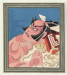 Zohiki (Elephant Tug) by Torii Kiyotada (1875 - 1941)