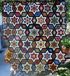 Another of Libby's Hexagon quilts