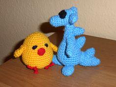 Drache und Vogel