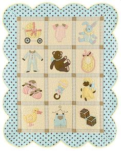 What an incredible quilt for a special baby.