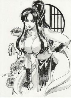 Mai Shirainui Alien Girl, King Of Fighters, Game Art, Comic Art, Pin Up, Video Games, Colour, Comics, Anime