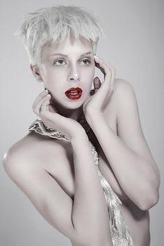 Icy White Hair Color | Modern Salon