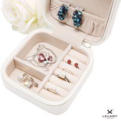 Small Travel Jewelry Organizer Jewerly Case Jewelry Box Jewerly