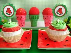 Watermelon Party - One in a Melon - Party Planning - Party Ideas - Cute Food - Holiday Ideas -Tablescapes - Special Occasions And Events - Party Pinching