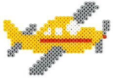 Airplane Hama beads - 3142 HAMA