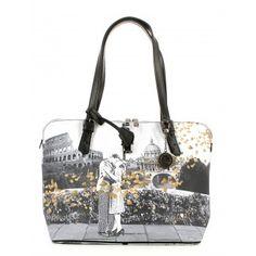 ffb06878980eb Borsa donna Y Not E-377 Shopping Bag Roma Flo Borse