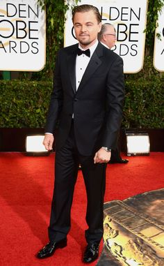 Leonardo DiCaprio in Armani from 2014 Golden Globes