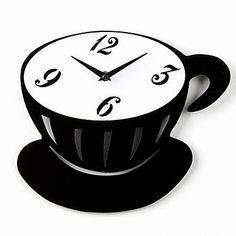 Reloj de pared Taza de Café   Relojes de Pared