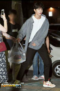 NJH Ji Soo Nam Joo Hyuk, Lee Sung Kyung, Ahn Hyo Seop, Nam Joohyuk, Weightlifting Fairy Kim Bok Joo, Asian Boys, Yg Entertainment, Korean Actors, Dramas
