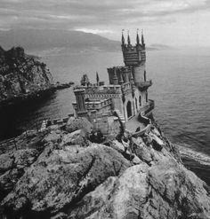 Castle on the rocks.