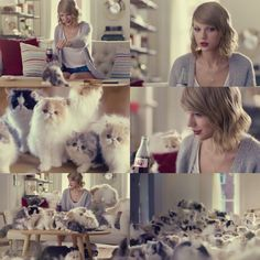 Taylor's coke commercial haha #Cats