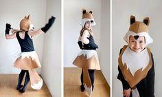 Fox PATTERN DIY costume girl sewing tutorial by ImaginaryTail