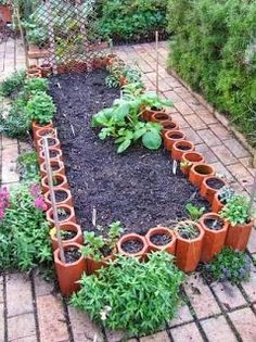 Ordinaire Small Space Gardening Idea! Perfect For Tiny Yards Or To Put Near The House  As